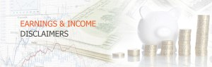 disclaimer earning and income