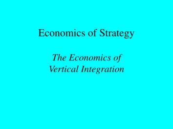 economics-of-strategy-the-economics-of-vertical-integration-n
