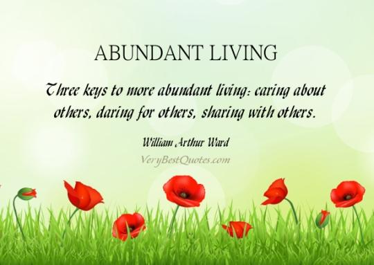 Abundant-living-quotes