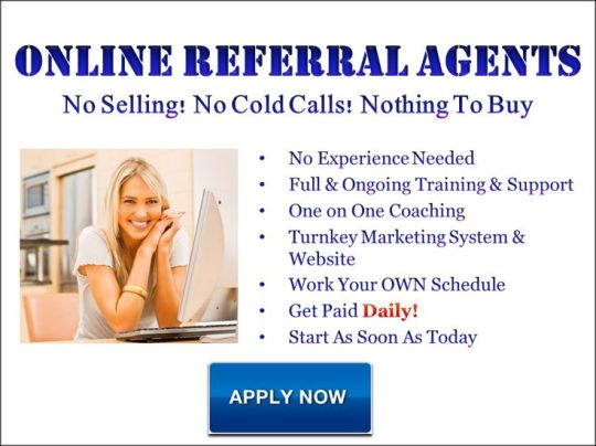 internet referral agent