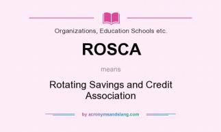 ROSCA meaning - what does ROSCA stand for?