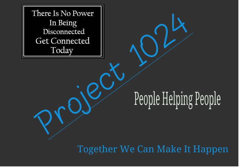 project 1024 people helping people