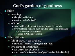 garden of eden meaning