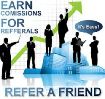 earn commission for referrals